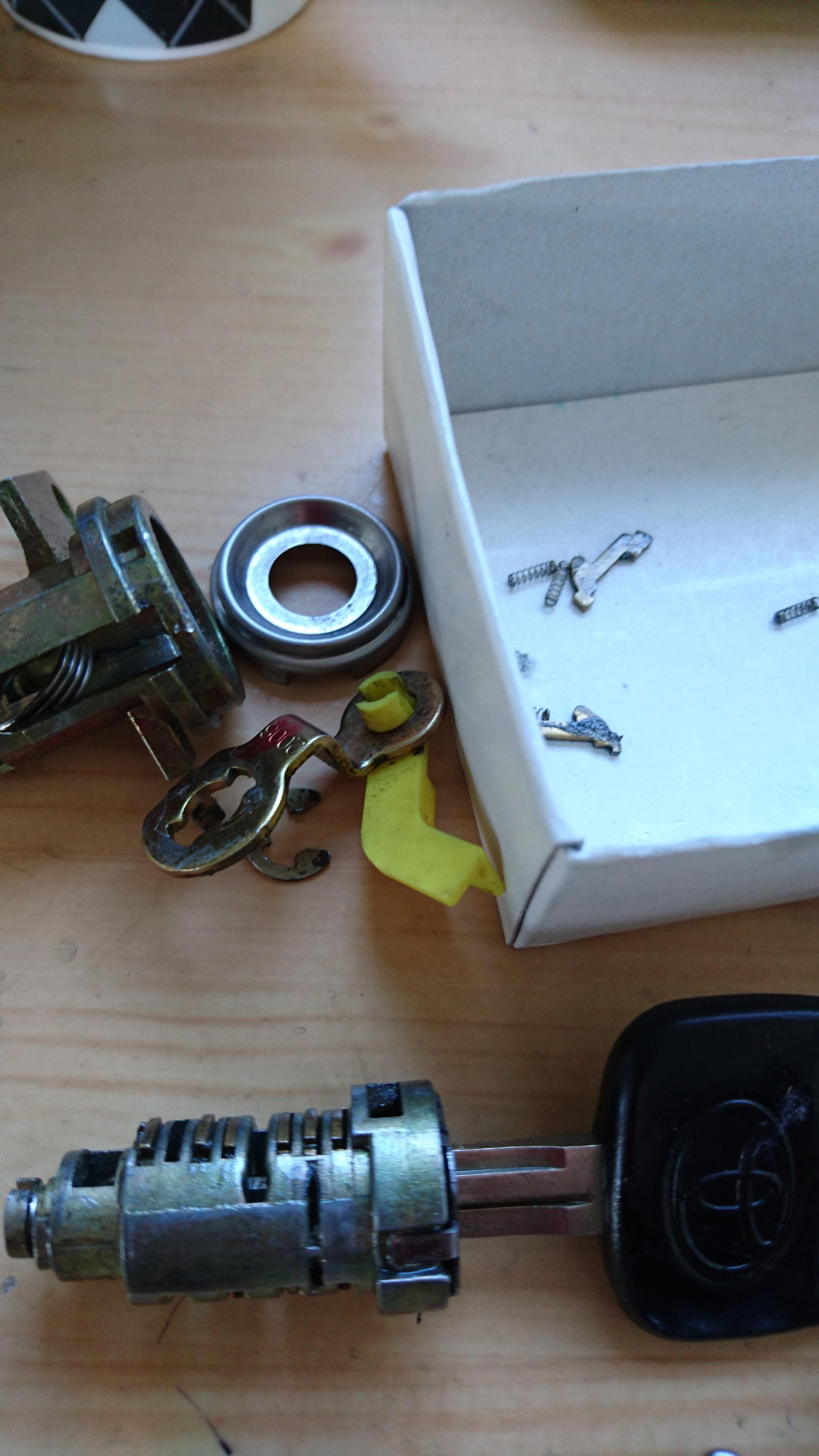 石巻市で車のカギの修理